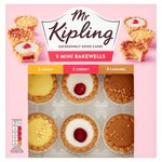 Mr Kipling Mini Bakewell Selection 9 per pack