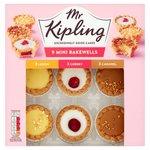 Mr Kipling Mini Bakewell Selection 9 per pack