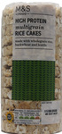 Marks and Spencer High Protein Multigrain Rice Cakes 100g