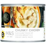 Marks and Spencer Chunky Chicken in White Sauce 206g
