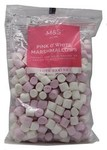 Marks and Spencer Pink and White Mini Marshmallows 125g