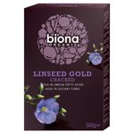 Biona Organic Cracked Linseed Gold 500g