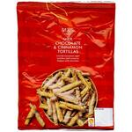 Marks and Spencer Christmas Chocolate and Cinnamon Sugar Tortilla Rolls 175g