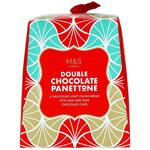 Marks and Spencer Mini Christmas Double Chocolate Panettone 100g