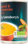 Sainsburys Carrot and Coriander Soup 400g