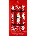 Marks and Spencer Fun Characters Christmas Crackers x 6