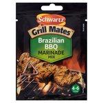 Schwartz Grill Mates Brazilian BBQ Marinade Mix 30g