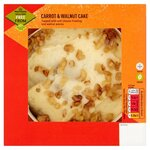 Morrisons Free From Carrot and Walnut Cake 420g