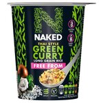 Naked Rice Free From Thai Green Curry 78g