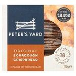Peters Yard Sourdough Crispbread Original 140g