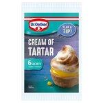 Dr Oetker Cream Of Tartar 6 Sachets