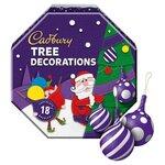 Cadbury 18 Chocolate Tree Decorations 108g