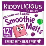 Kiddylicious Blackcurrant and Apple Smoothie Melts 6g 12 Months