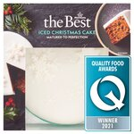 Morrisons The Best Christmas Fully Iced Cake 900g
