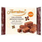 Thorntons Billionaire Brownie Fingers 5 Pack