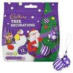 Cadbury 12 Chocolate Tree Decorations 72g