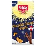Schar Gluten Free Chocolate Orange Fingers 150g