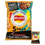 Walkers Nandos Peri Peri Chicken Crisps 5X25g