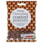 Waitrose Belgian Milk Chocolate Peanuts 150g