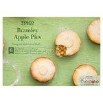 Tesco Bramley Apple Pies 6 Pack