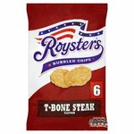 Roysters T-Bone Steak Chips 6 Pack