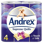 Andrex Toilet Tissue Quilts 4 Roll