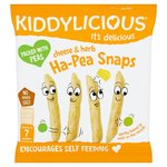 Kiddylicious Cheese and Herb Ha-Pea Snaps 15G