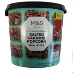 Marks and Spencer Salted Caramel Popcorn 185g tub