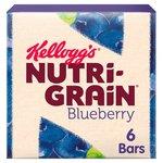 Kelloggs Nutri Grain Bars Blueberry 6 Pack