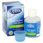 Optrex Multi Action Eye Wash 100ml Plus Eye Bath