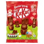 Kit Kat Milk Chocolate Mini Easter Bunnies Bag 66g