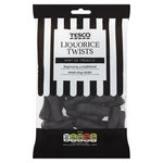 Tesco Liquorice Twists 250g
