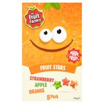 The Fruit Factory Fruit Stars 5 x 18g