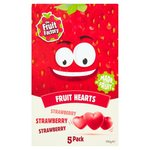 The Fruit Factory Strawberry Fruit Hearts 5 x 20g