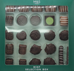 Marks and Spencer Chocolate Selection Mint 285g