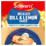 Schwartz Delicate Dill and Lemon Sauce for Fish 300g