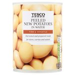 Tesco New Potatoes 557G
