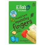 Ellas Kitchen Organic Mixed Herb Munchy Fingers 4 x 2 Pack