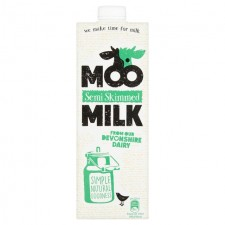 Moo Semi Skimmed Long Life Milk 1L