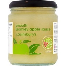 Sainsburys Bramley Apple Sauce Smooth 250g