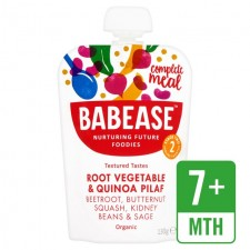 Babease Organic Root Vegetable and Quinoa Pilaf 130g