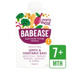 Babease Organic Lentil and Vegetable Bake 130g