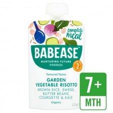 Babease Organic Garden Vegetable Risotto 130g