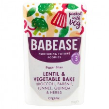 Babease Organic Lentil and Vegetable Bake 190g