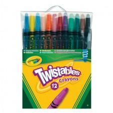 Crayola 12 Twistable Crayons 12 per pack
