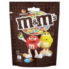 M&Ms Chocolate 125g Bag
