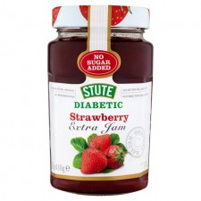 Stute No Added Sugar Diabetic Strawberry Jam 430G