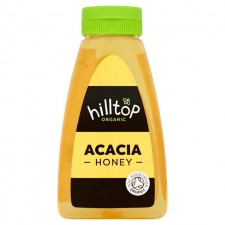 Hilltop Honey Organic Acacia Honey 370g