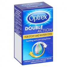 Optrex Double Action Eye Drops For Itchy and Watery Eyes 10ml