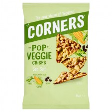 Corners Pop Veggie Corn Peas and Bean Sea Salt 85g